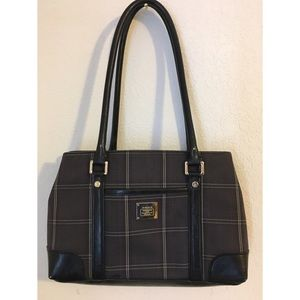 Handbags - Liz Claiborne Kelsey Mini Tote Bag Plaid